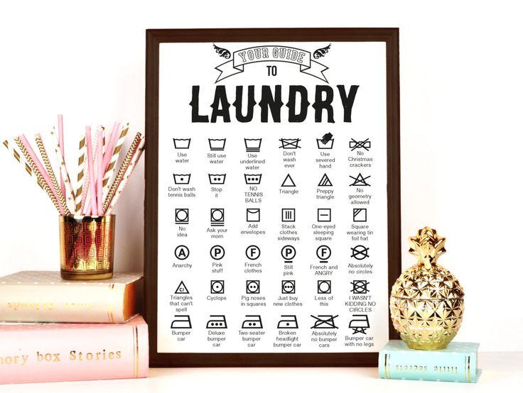Laundry Symbols Wall Art Awesome 25 Ide Laundry Symbols Terbaik Hanya Di Pinterest  Ruang Mencuci Design Ideas