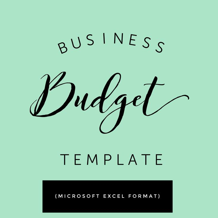 11 best Accounting + Finance Small Business images on Pinterest - small business budget template
