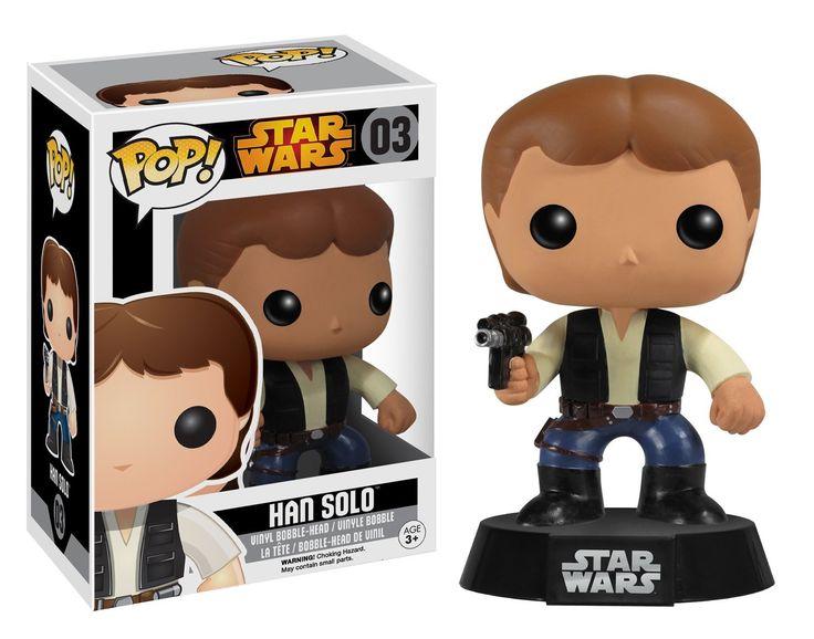 Star Wars POP Han Solo Bobble Head Vinyl Figure