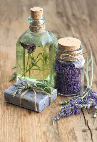 lavender oil, herbal soap and bath salt  | Wedding Style Inspiration www.lafabriqueareves.com
