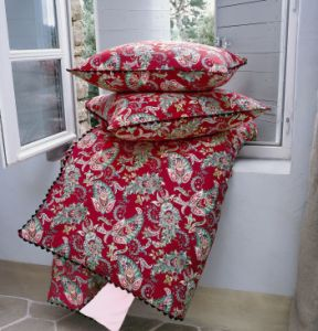 1000 ideas about housse de couette rouge on pinterest for Housse couette linvosges