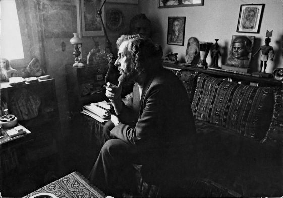 "Yannis Ritsos ----- One of the 5 greatest Greek poets of the 20th century, left-wing activist, active member of the Greek Resistance, arrested by the dictatorship in 1967.       -- "" I know that each one of us travels to love alone,alone to faith and to death.I know it. I' ve tried it .It doesn't help.Let me come with you ..."" ( Moonlight Sonata )"