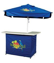 Margaritaville Portable Bar Molded Plastic Shelves