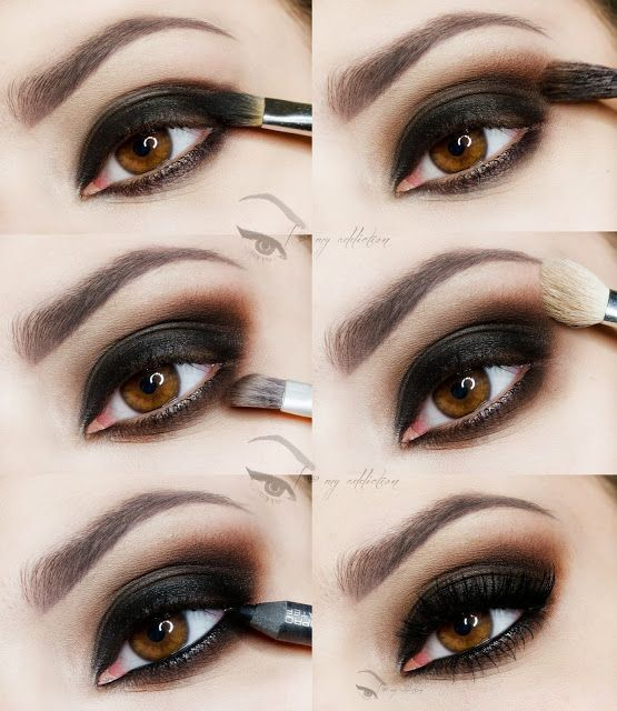 dramatic smokey eye tutorial #dailyfashforfashions