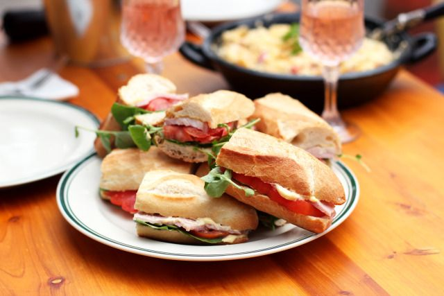 Sandwich Jambon a l'os