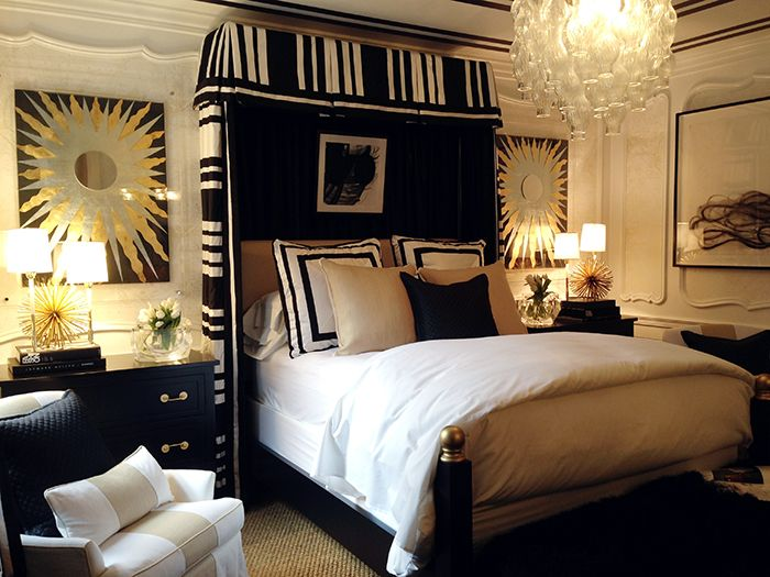 Prints + Patterns + Palette | Via Dreamy Bedrooms ~ Cityhaüs Design · Gold  BedroomBedroom DecorBlack White ... Part 35