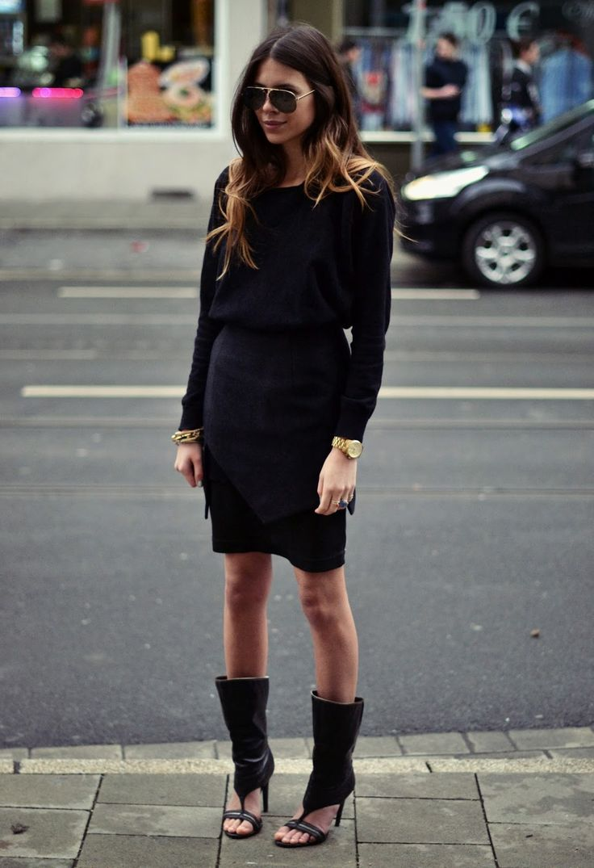 MAJA WYH:  Shirt: Zara. Skirt: findersKEEPERS by LOUD! Shoes: Jessica Simpson
