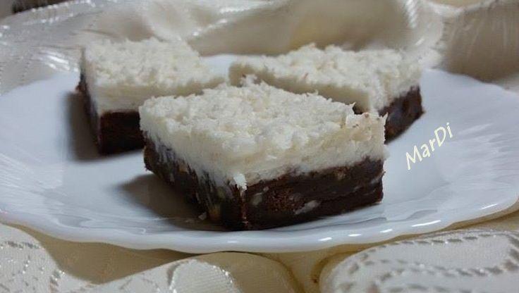 О, щом има кокос и шоколад- наш ще бъде и този сладкиш.   Да благодаря сърдечно на моята кулинарна, виртуална и реална дружка Виргиния Дир...