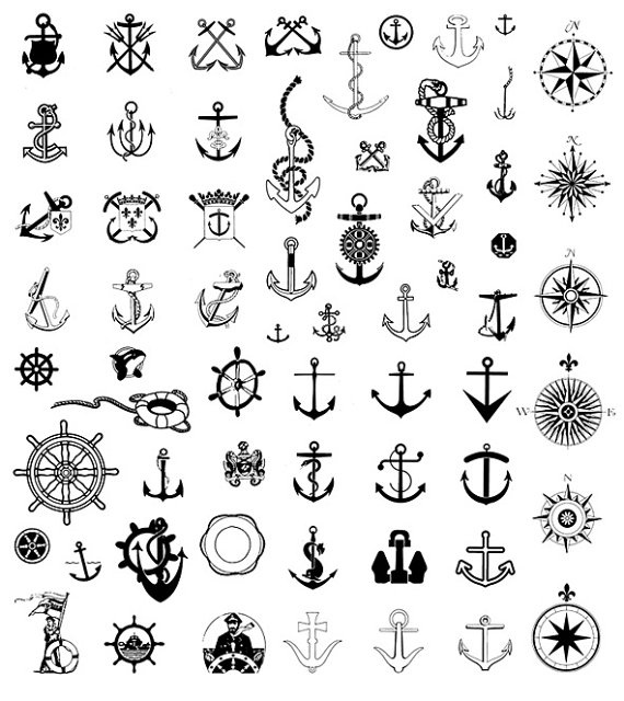 DIGITAL SCRAPBOOK CLIPART Nautical Clip by MoneyCanBuyHappiness, $5.00