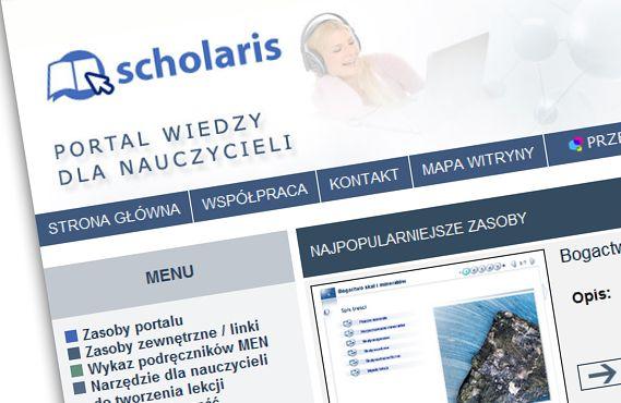 Portal wiedzy dla nauczycieli http://www.scholaris.pl/