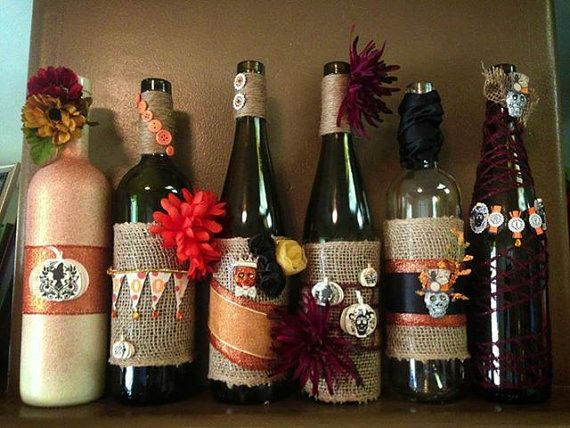 wine bottle decorations handmade 17 best images about wine bottles on 6271