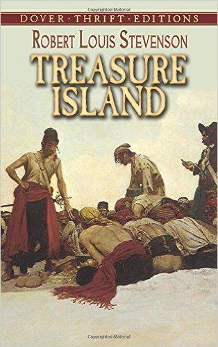 Treasure Island It's a very fascinating book full of twists that keeps the reader interested from the first page 'till the end. It treats a sea adventure with pirates, hidden treasures, and the characters sometimes are not what they seam. For foreigners readers, like me,  it's full of ship and sea terms not always easy to understand.