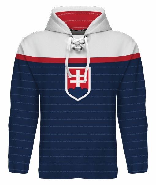 NEW 2015 Team Slovakia Hockey World Cup Hoodie NHL TATAR REWAY HOSSA GABORIK