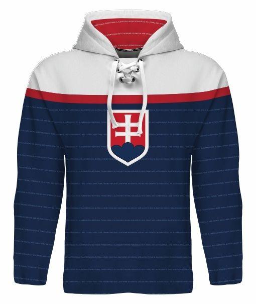 NEW 2015 Team Slovakia Hockey World Cup Hoodie NHL TATAR REWAY HOSSA GABORIK