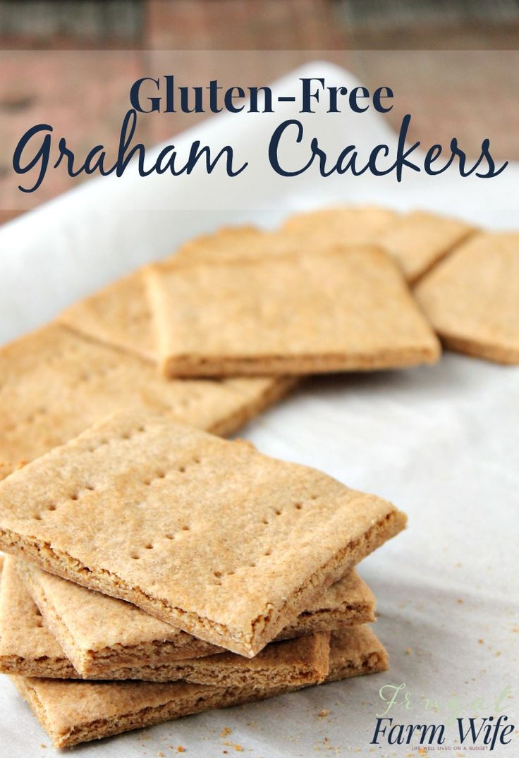 """Who would have believed that you could make authentic tasting gluten-free graham crackers so easily! A few weeks ago, I mentioned that we had gone on our first camping trip, complete with building a campfire and roasting marshmallows. It was so much fun! But about three times that evening, Gabriel said """"hey, maybe next time …"""