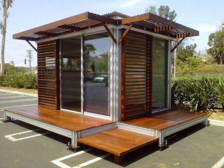 38 best images about modern sheds on pinterest gardens for Prefab garden office