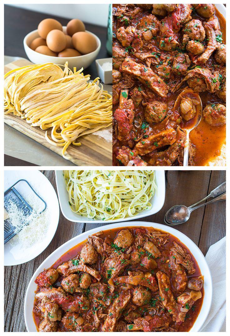 Tuttorosso Tomatoes Four Meat Italian Gravy