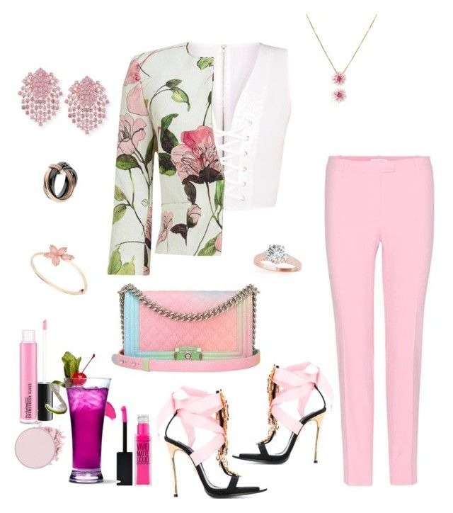 """""""Untitled #790"""" by lianatzelese on Polyvore featuring Altuzarra, Phase Eight, Dsquared2, Chanel, Emporio Armani, Alexander Laut and Etro"""