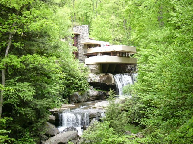 Fallingwater+-++an+architectural+masterpiece+designed+by+Frank+Lloyd+Wright