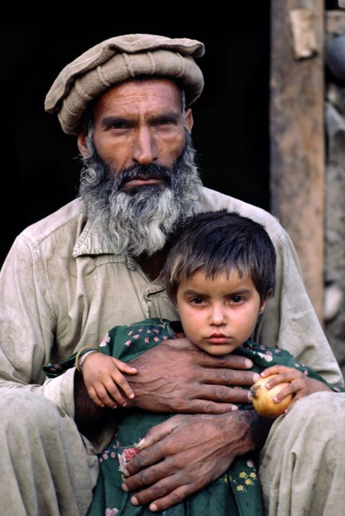 Father and Daughter, Afghanistan, 1984