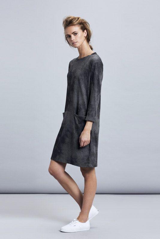 Grey dress,grey mini dress,grey long Sleeve dress,Oversize grey dress,Oversize dress,cotton dress,casual shirt dress,casual grey dress,gray by MichalEmma on Etsy