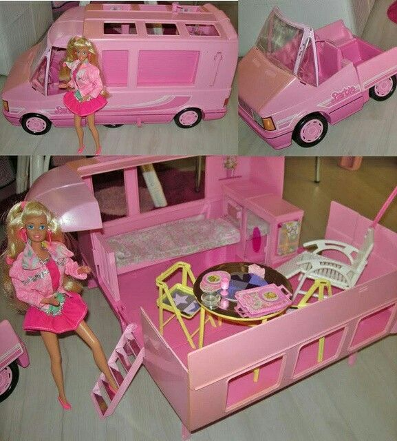 Barbie camper van bed