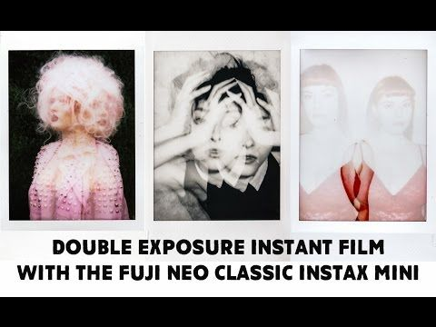 One of my go-to cameras for pure creativity is the Fuji Neo Classic Instax Mini 90, largely because of the double exposure feature it has. I regularly use th...