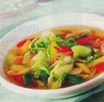 Eenvoudig recept voor vetverbrandende soep - Plazilla.com