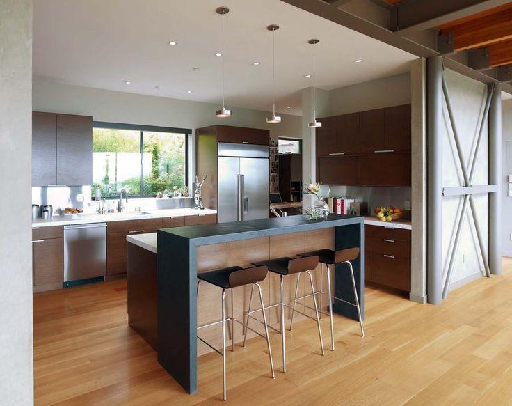 Interior: Minimalist L Shaped Kitchen Designs With Decorative ...