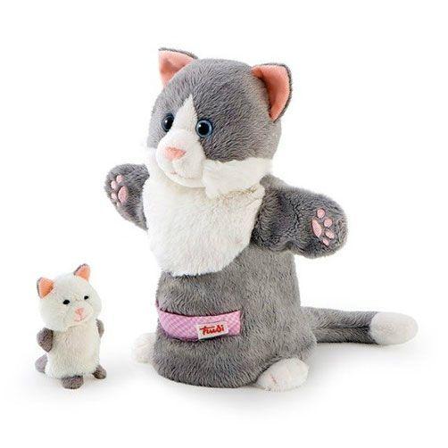 Trudi Handpop Kat met Kitten