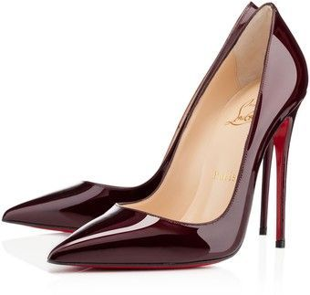 Color Borgoña - Burgundy!!! Christian Louboutin