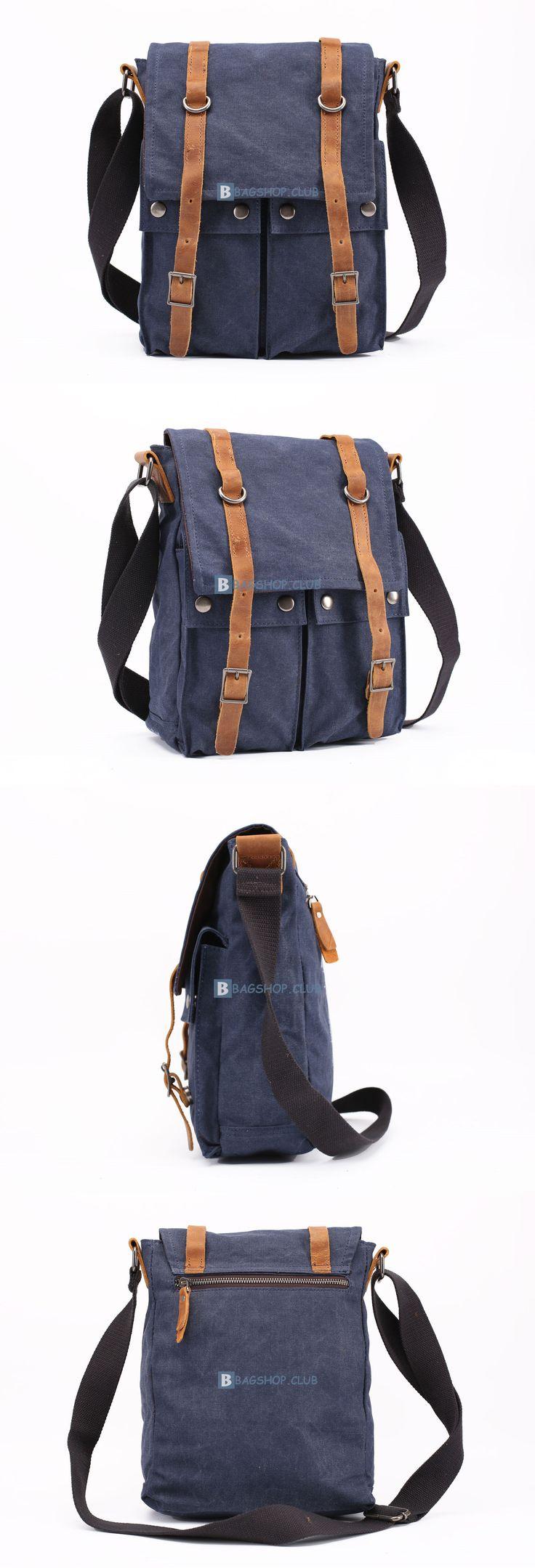 $67.99 Canvas Bag For MenTravel BagsShoulder Bag