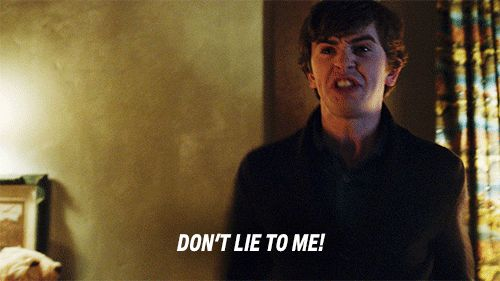 New party member! Tags: season 3 bates motel freddie highmore liar norman bates aetv s03e03 dont lie dont lie to me