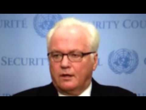 Russia walks out of the United nation security council meeting insulted by Samantha powers of the United States over the Syria attack by America also http://...