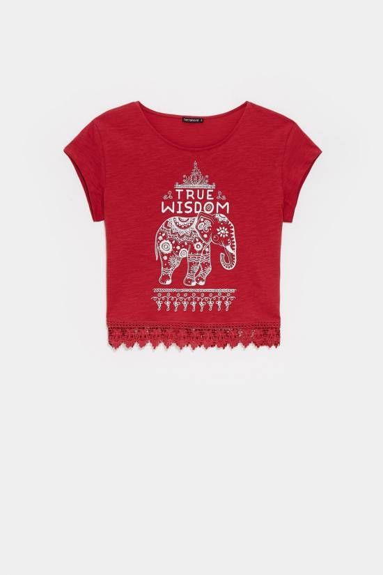 t-shirt stampa etnica  Collezione online