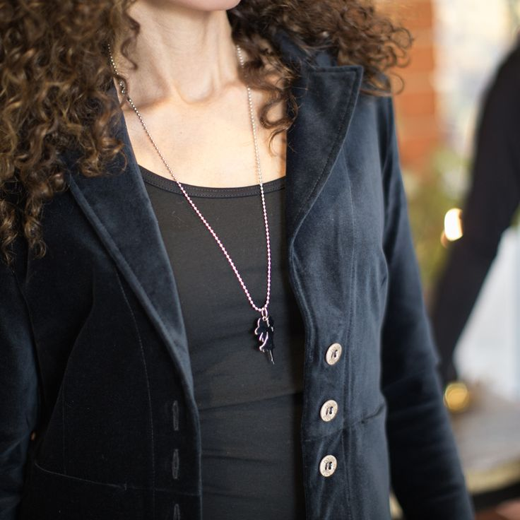 Satisfied blazer velvet - dark grey