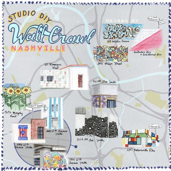 StudioDIYWallCrawl The Best Walls in Nashville Nashville Walls