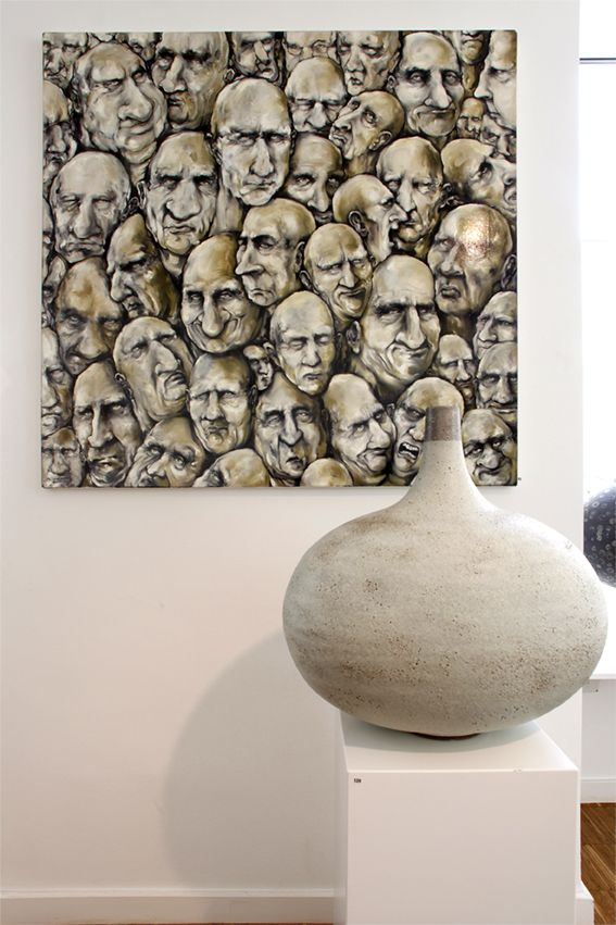 Exhibition view: Morten Ingemann  Ruth Lorentzen, June 14.