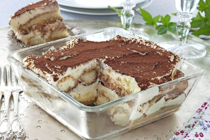 Tiramisu er en nydelig og klassisk, italiensk dessert!