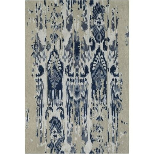 Surya ART242-23 Artist Studio 2' x 3' Rectangle Wool Hand Tufted Transitional Ar - gray