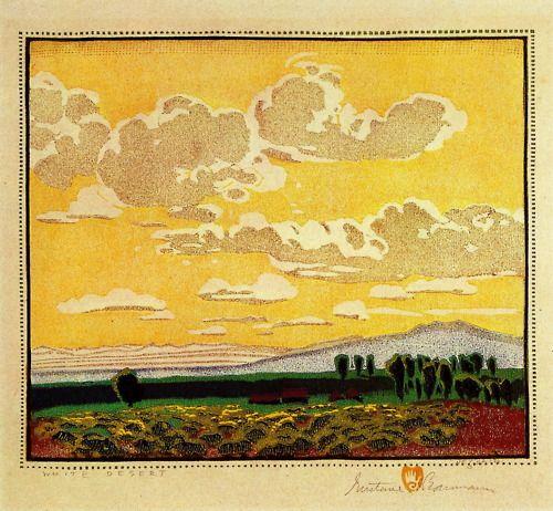 labrancaro:    White Desert - Gustave Baumann