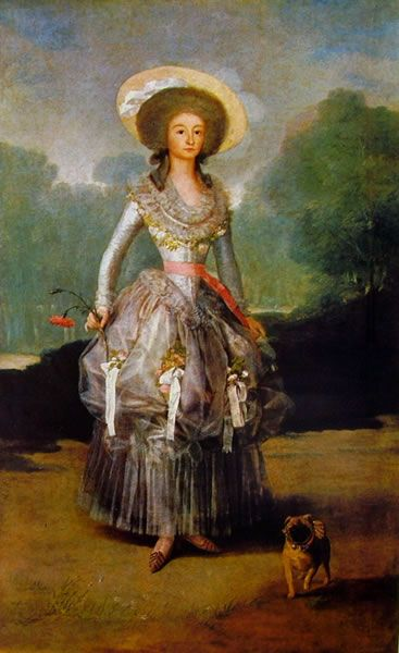 Maria Ana Pontejos y Sandoval, Marchesa de Pontejos, 1786, cm. 210 x 126, Washington National Gallery of Art