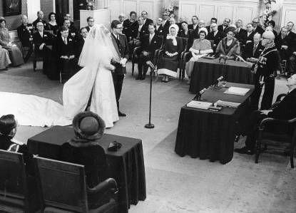 Foto van Prinses Margriet en mr. Pieter van Vollenhoven, 10 januari 1967 © RVD