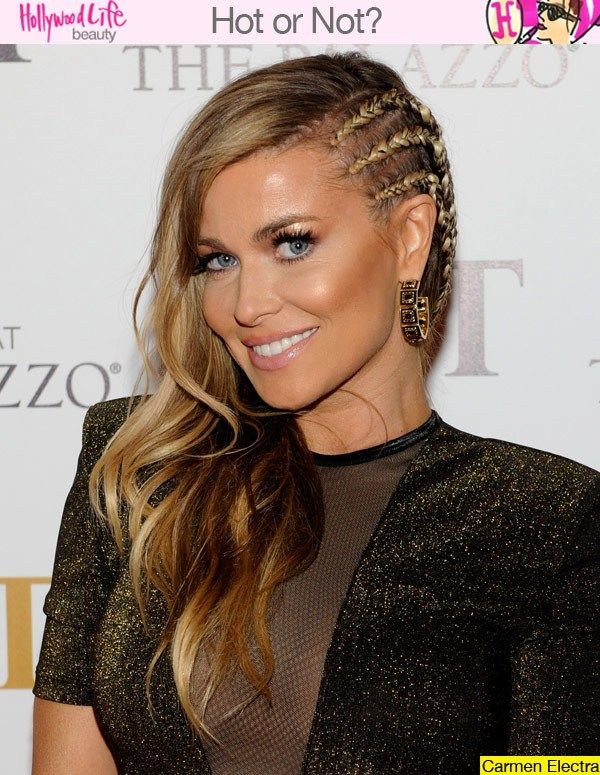 Long Hairstyles, Side, Carmen Electra, Kicking Hairstyles, Long Wavy