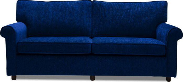 Muse Midnight Blue Fabric Sofa