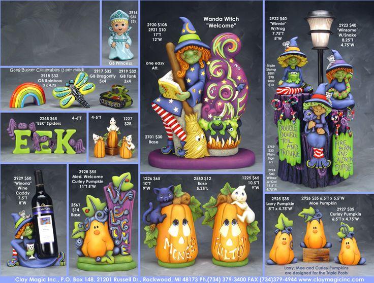 clay magic molds catalog clay magic catalog page 126 - Halloween Catalog