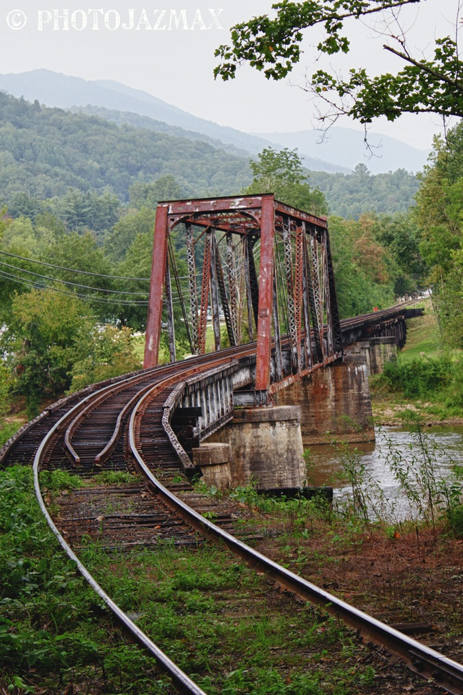 Railroad Trestle, Bryson City, North Carolina