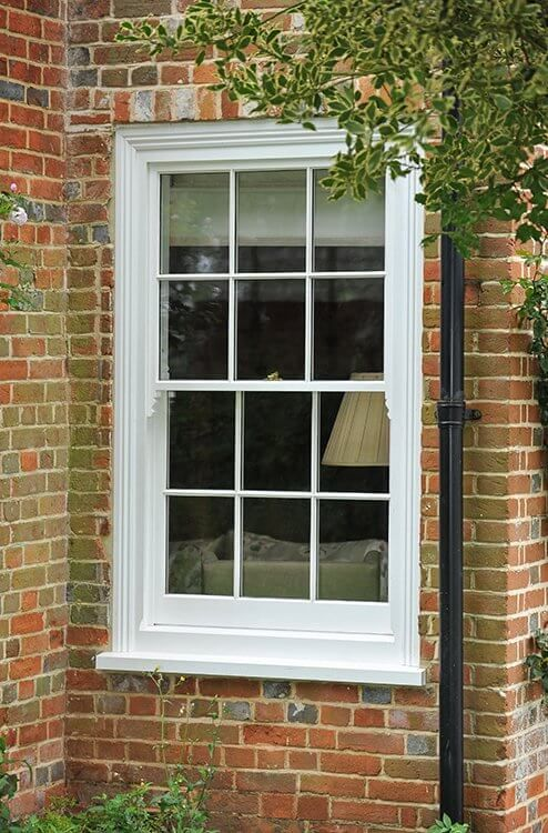 Timber, Georgian, Box Sash Window Manufactured and Installed by The Sash Window Workshop