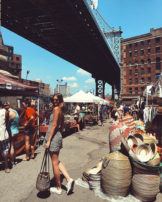 Sunday morning at Brooklyn Flea Markets 🌞