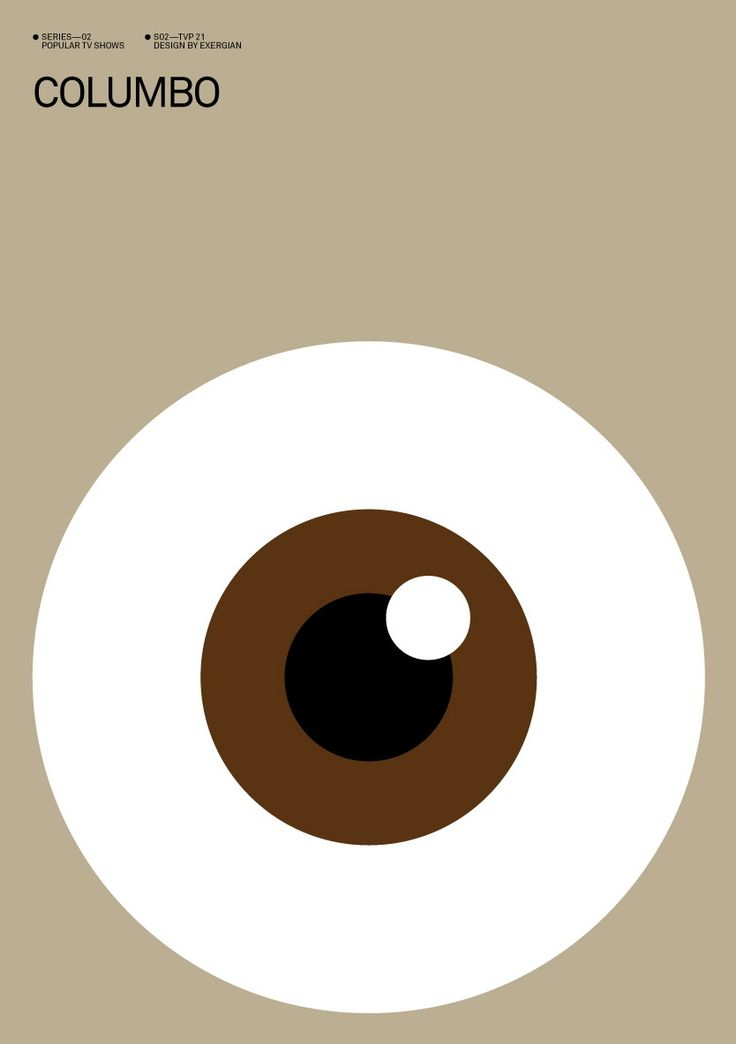 For TV series junkies...by Exergian.: Graphic Design, Minimalist Posters, Poster Design, Albert Exergian, Art Graphics, Tvs, Posters Tv, Eyes